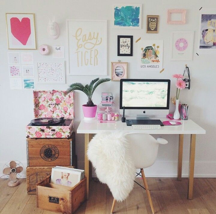 Office Inspiration -- Natalie Spencer Photography