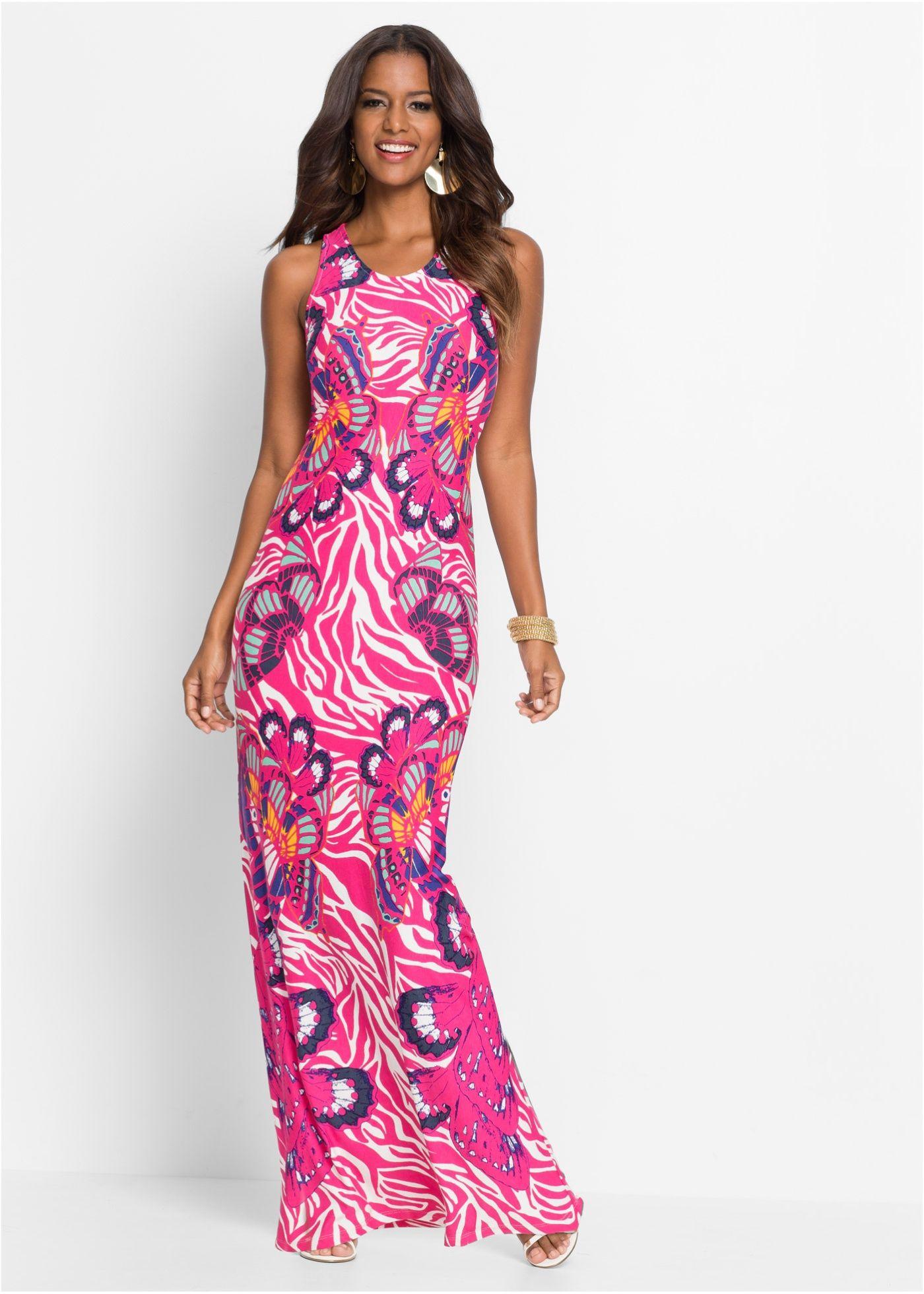 Kleid bunt rosa - BODYFLIRT boutique jetzt im Online Shop von