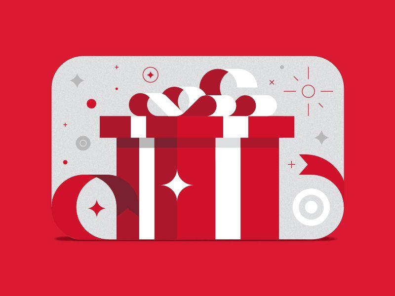 Photo of Target Gift Card Box & Ribbons