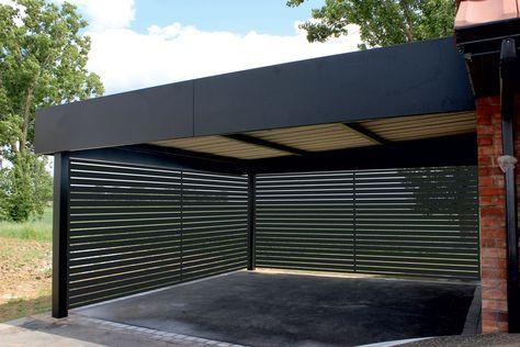 Carport aluminium tori portails en 2019 abri voiture - Garage metallique pour voiture ...