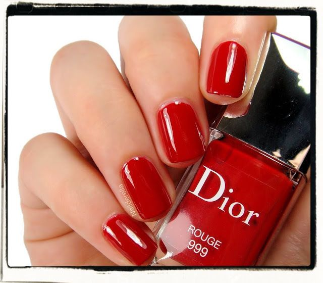 Dior Vernis Nail Lacquer Rouge #999 Red Limited Edition 10ml New ...