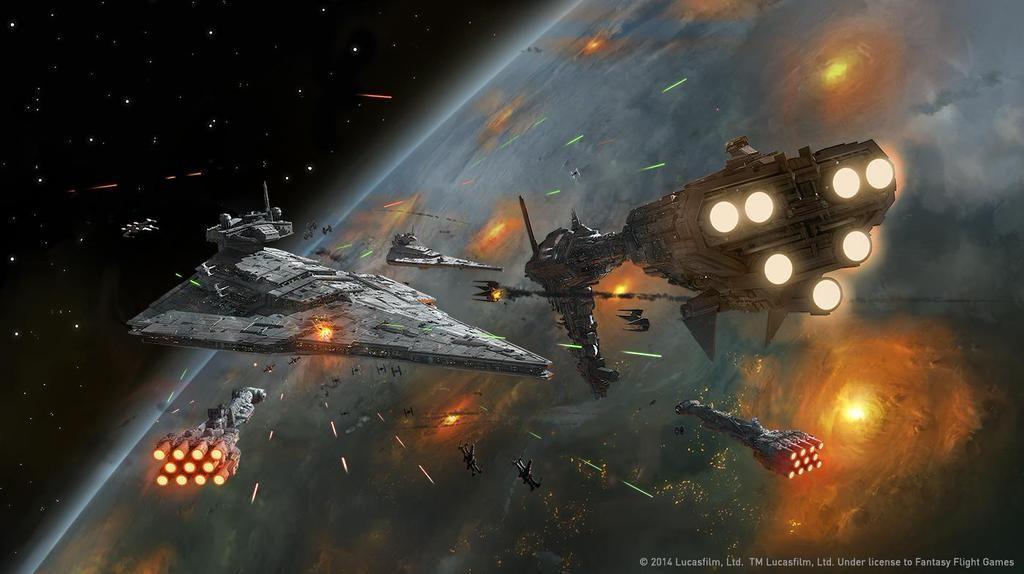© Ben Zwifel - Batalla Espacial