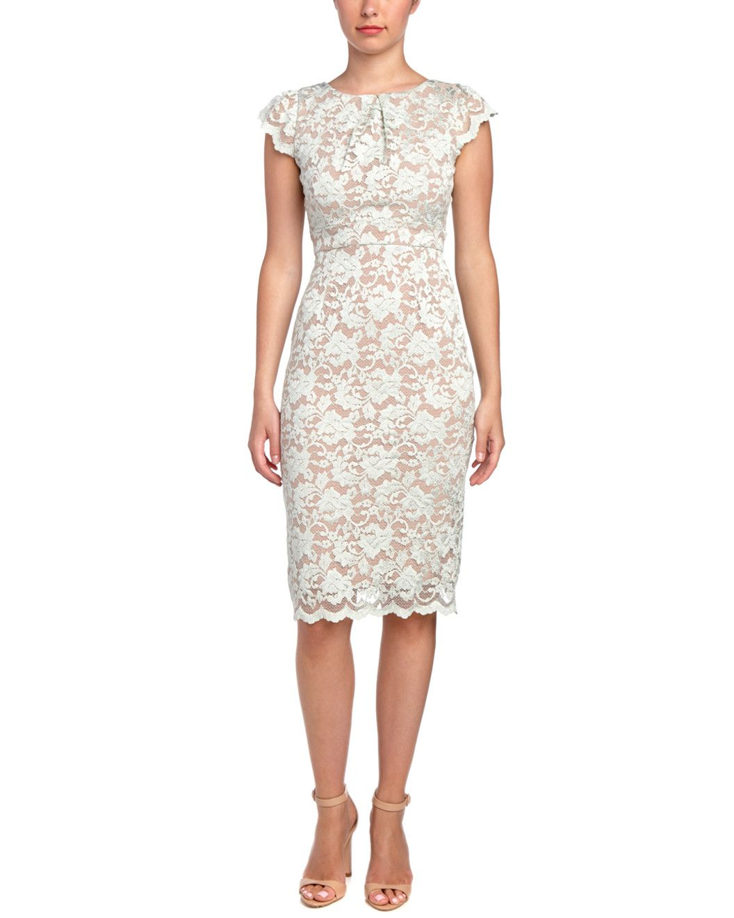 Spotted this ABS Lace Dress on Rue La La. Shop (quickly!).