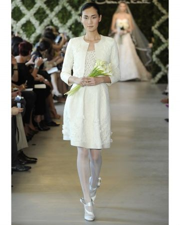 Wedding Dress From Oscar De La A S Sping 2017 Collection
