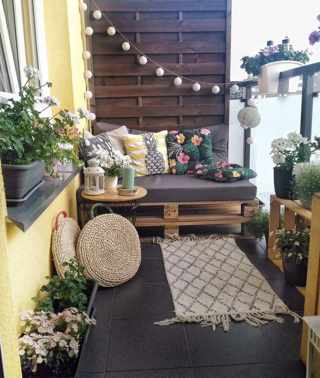 10 Small Balcony Decor Ideas #narrowbalcony