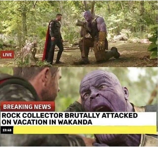 this is why you don't visit third world countries    Marvel Cinematic Universe (MCU)
