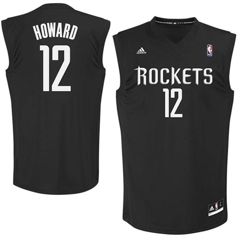 sale retailer 7c8bf c6a45 Dwight Howard Houston Rockets adidas Fashion Replica Jersey ...