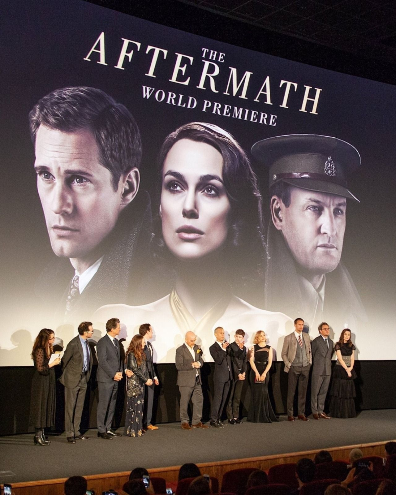 SkarsJoy — THE AFTERMATH cast at their world premiere in