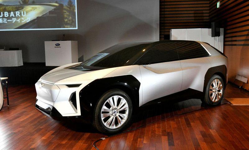 スバルとトヨタとが共同開発するevの名称は Evoltis エヴォルティス