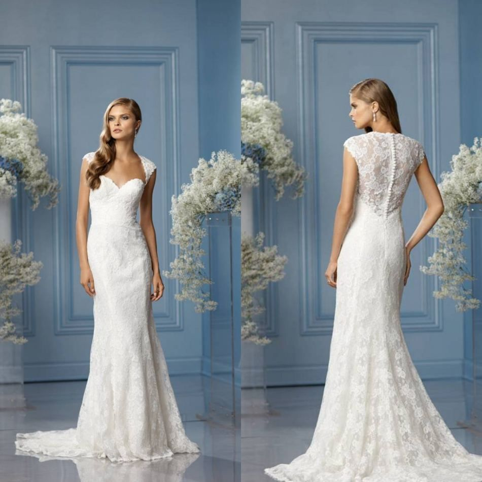 lace 3/4 wedding sleeves cover | Lace Cover up Bridal Wedding Dress ...