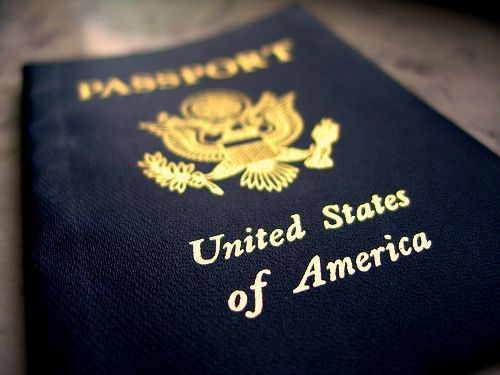 I love the look of having my passport in my hand