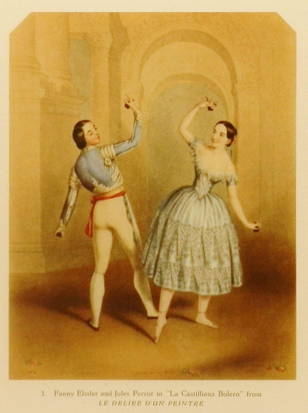 Ballet Art, Vintage Ballet Print (Antique Home Decor, 1940s Dance ...