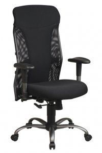 High Back Mesh Office Chair with Synchro-tilt SKU: 7160 The (7160) is a modern mesh high back office chair with an elegant titanium finish and synchro tilt control. Availability: 1 Color(s) Available Pricing: $199.99