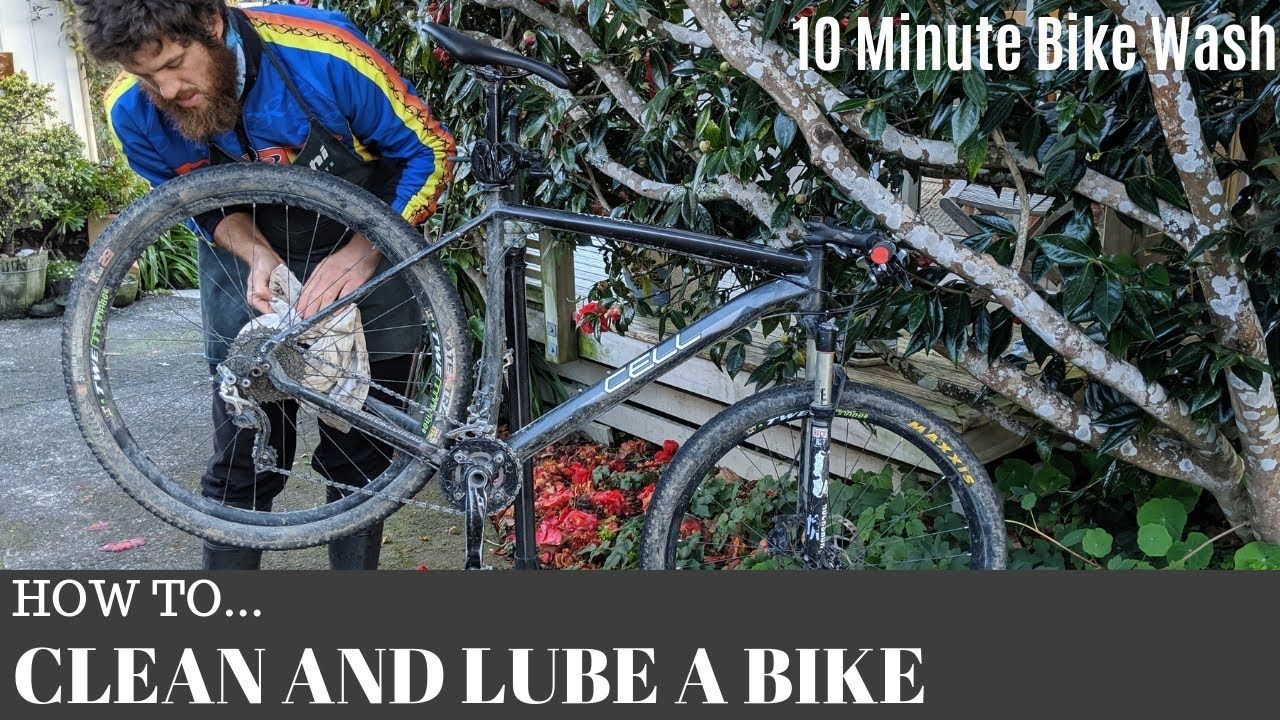 How To Wash And Lube Your Bike In Only 10 Minutes Keeping Your