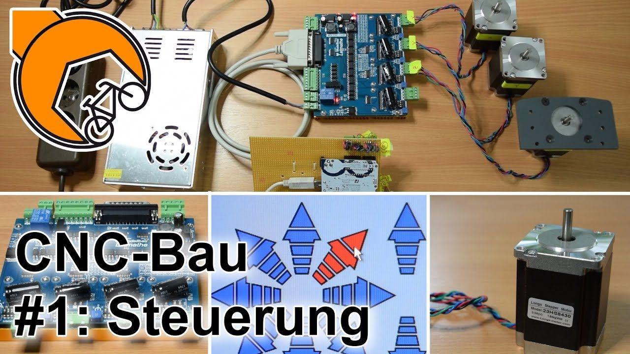 Cnc Fräse Selbstgebaut Teil 1 Steuerung Arduino