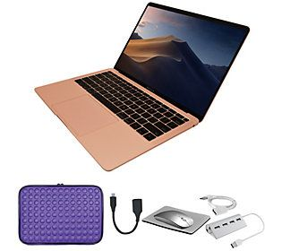 "Apple MacBook Air 13"" Retina 128GB Laptop with Accessories"