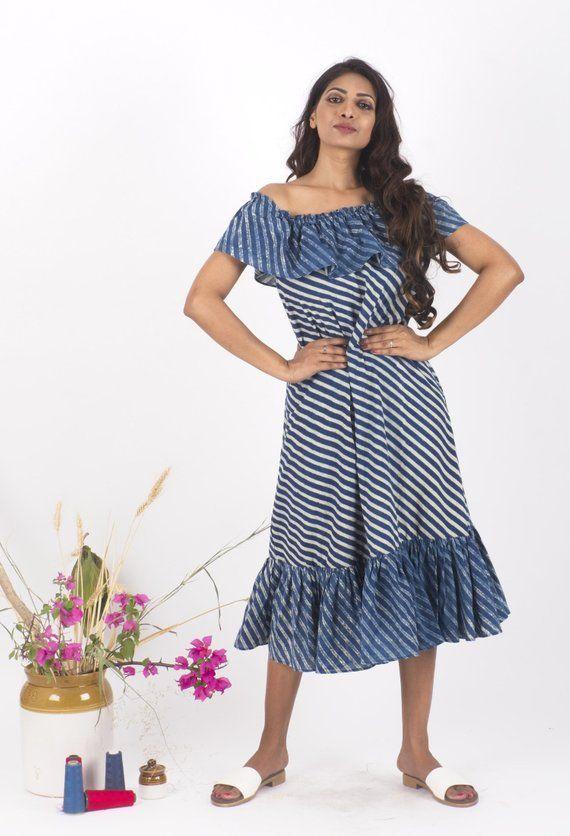 d027909b8 McSunny Indigo Dress
