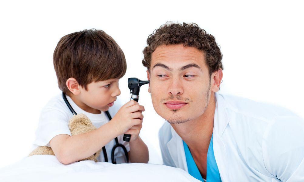 Wenn das Ohr weh tut - Mittelohrentzündung bei Kindern