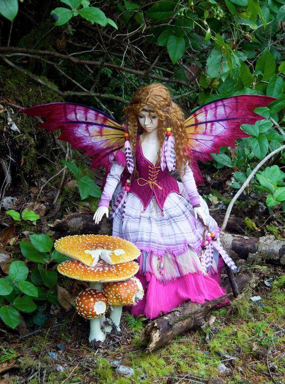 beautiful fairy doll