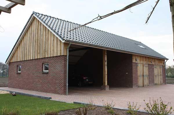 Garage Met Veranda : Houten schuur met veranda google zoeken horse related in