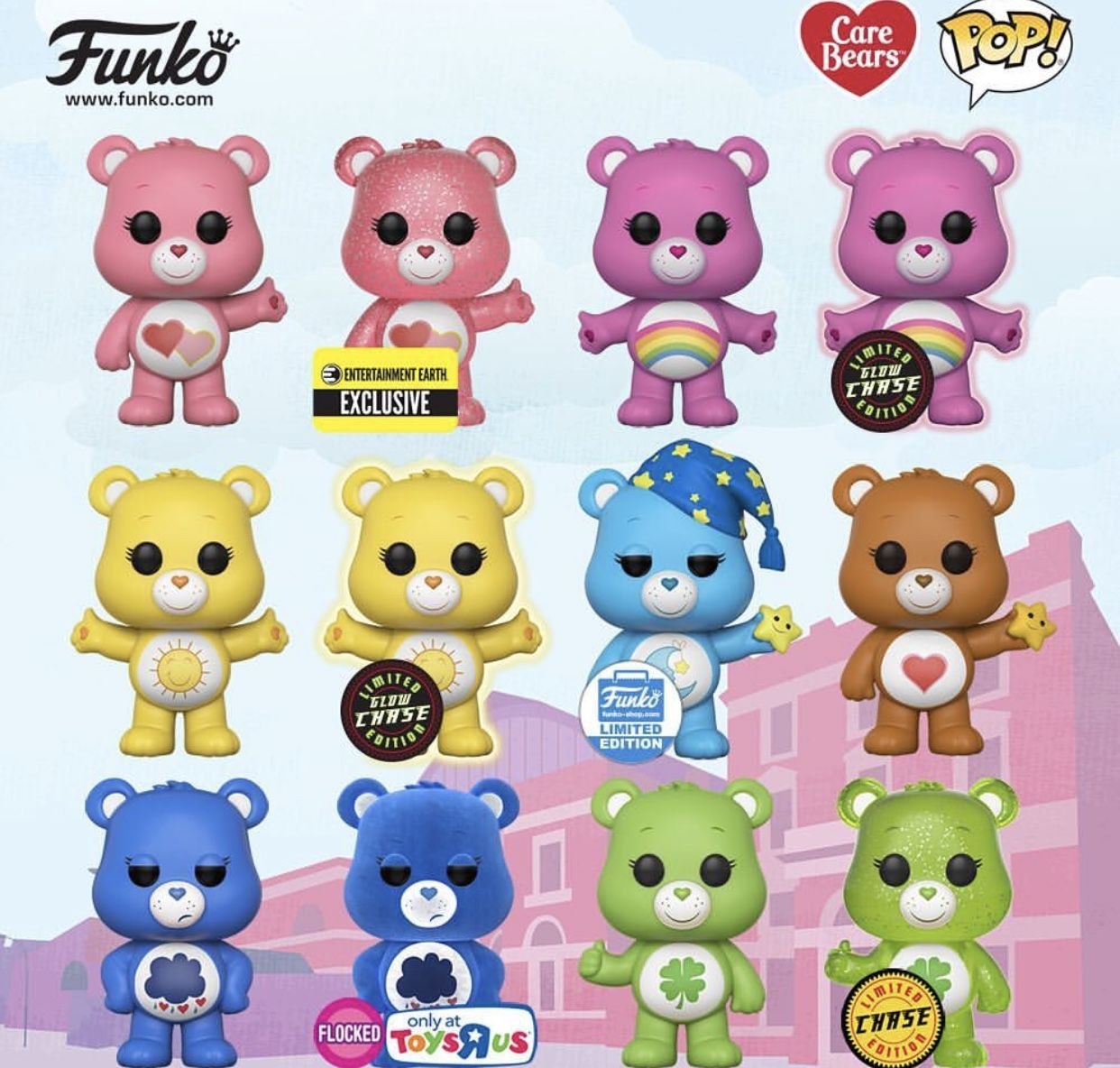 Funko Pop Vinyl Care Bears Coming Soon For The ️ Of