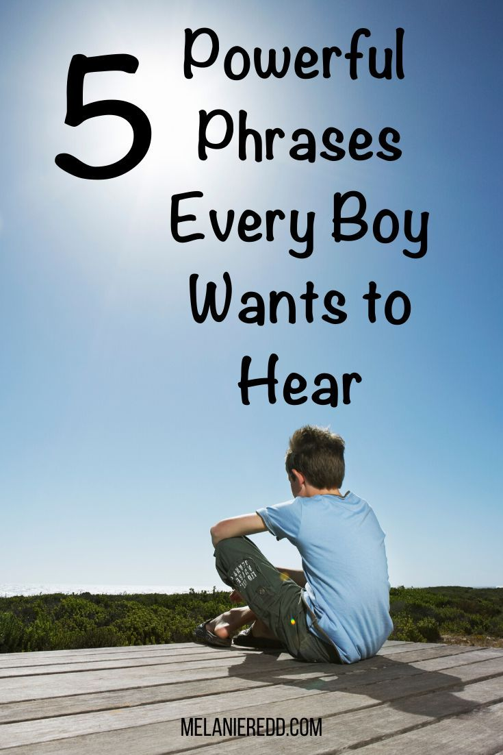 Photo of 5 Powerful Phrases Every Boy Wants to Hear
