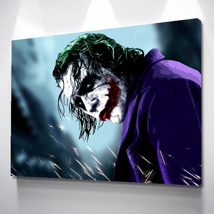 Why So Serious Canvas Set Joker Wallpapers Joker Hd Wallpaper Joker Images