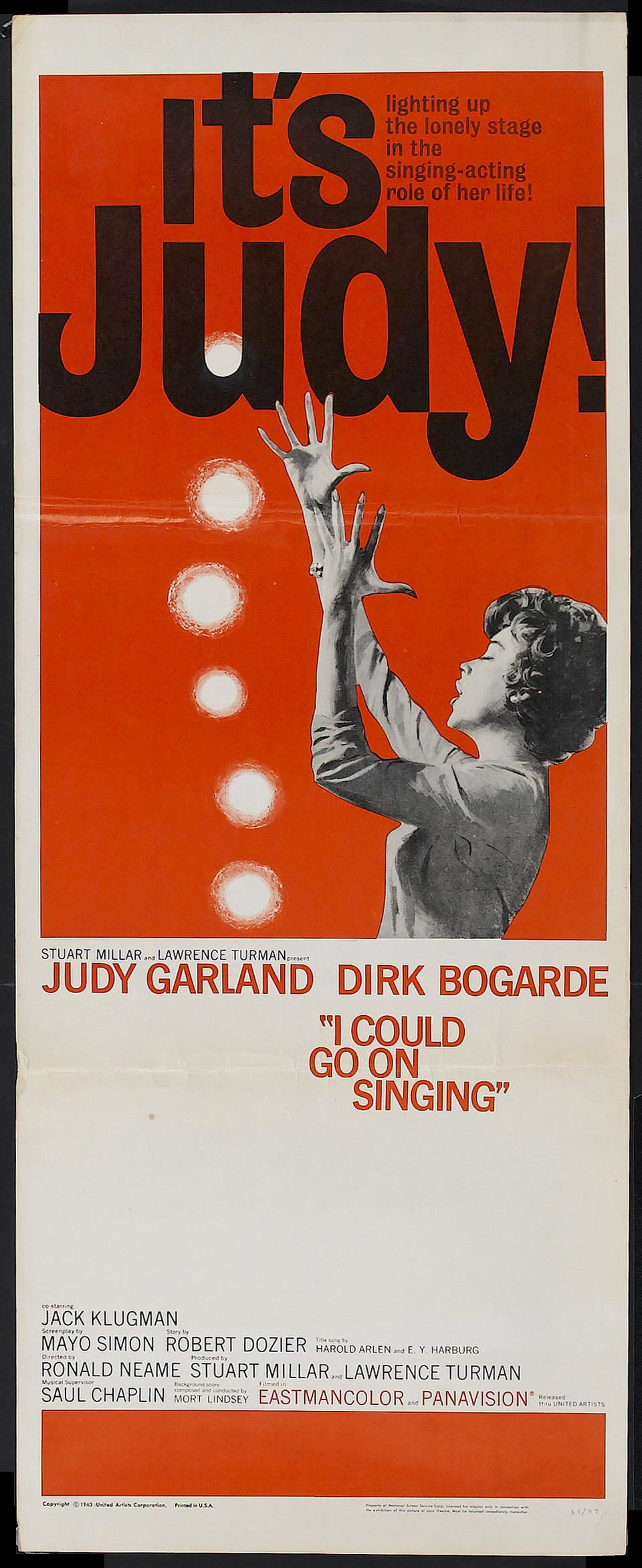 I Could Go on Singing (Ronald Neame, 1963) US insert