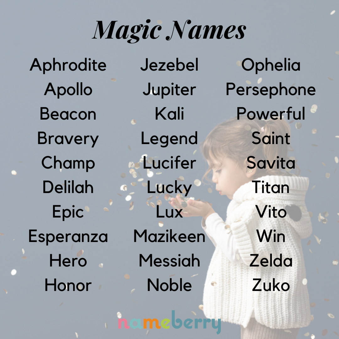 162 Magic Names