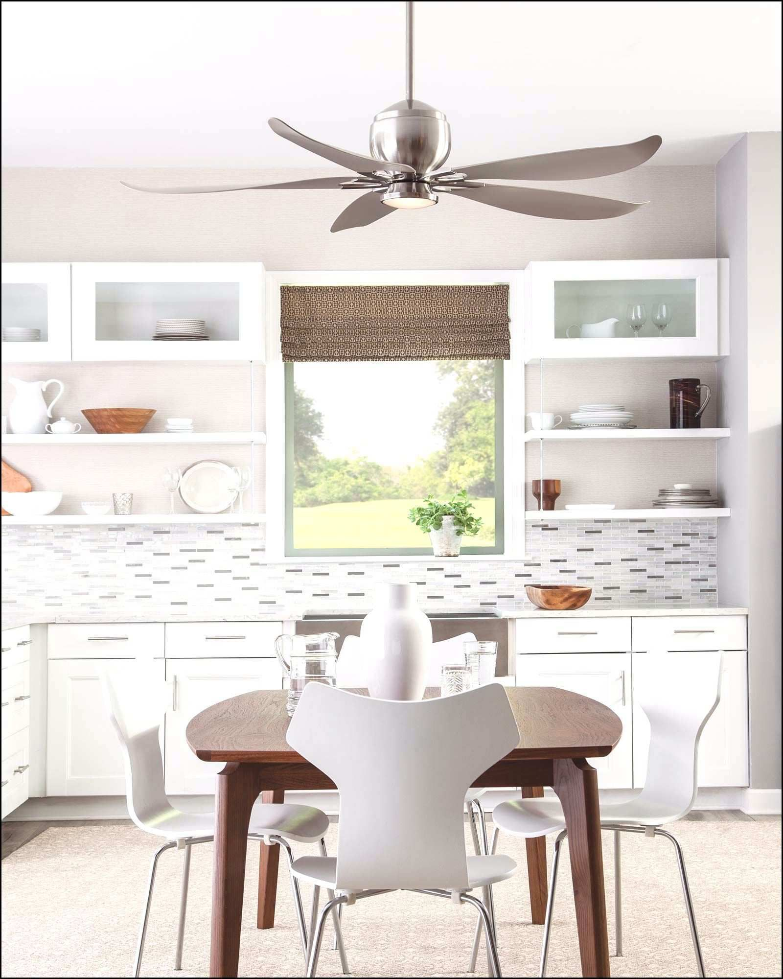 Kitchen Ceiling Fans Have Been Around For Decades And They Will Be Around For Much Longer Due To Their H Ceiling Fan In Kitchen Ceiling Fan Simple Ceiling Fan