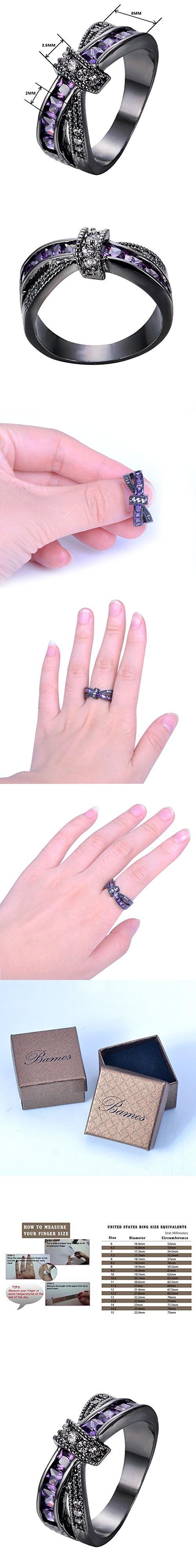 Bamos Jewelry Amethyst Purple Diamonds Christmas Best Friend ...