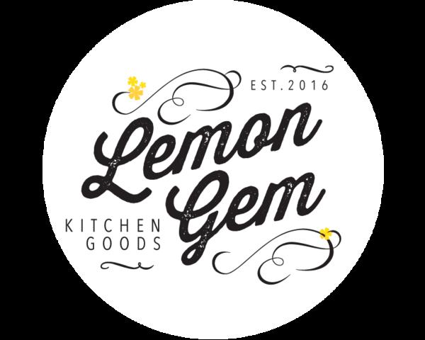 The logo for Lemon Gem Kitchen Goods, a St. Louis gourmet ...