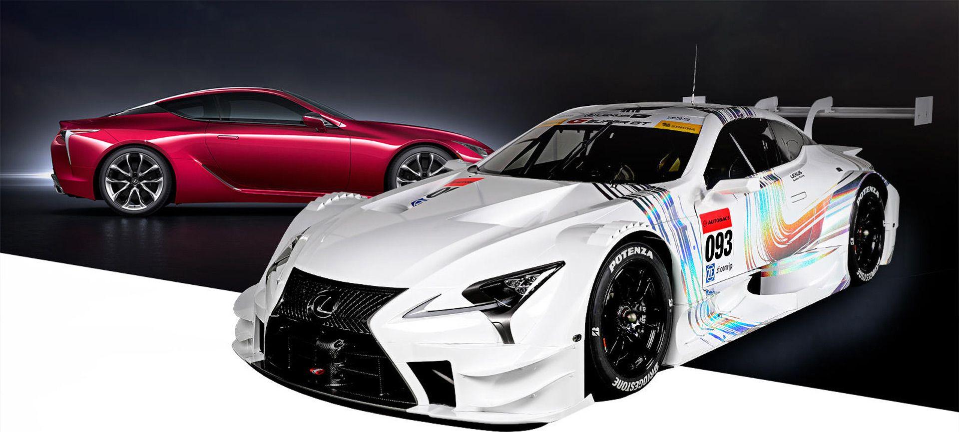 2017 lexus lc super gt racer revealed