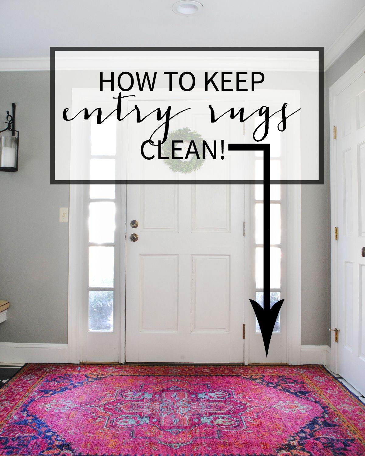 How To Keep Entry Rugs Clean Funky Home Decor Entry Rug Diy