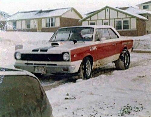 Amc rambler scrambler in the snow