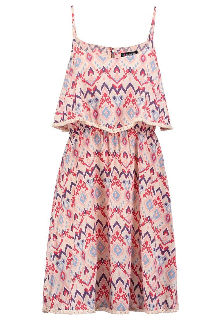 Robes d'été Even&Odd Robe d'été - coral/pink rose: 25,00 € chez Zalando (au 19/05/16). Livraison et retours gratuits et service client gratuit au 0800 740 357.