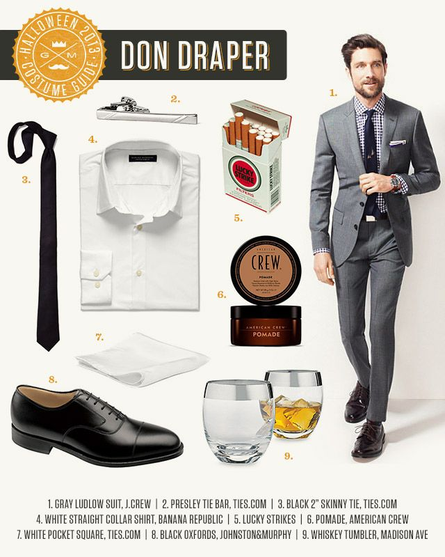 Mad Men Accessories gentleman dress guide: don draper | men's style | pinterest