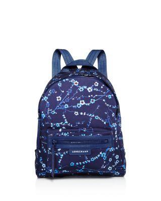 c0edb640163 LONGCHAMP Le Pliage Neo Sakura Small Nylon Backpack.  longchamp  bags   nylon  backpacks