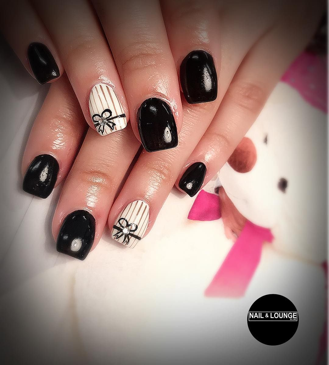 UV Gel Full Set with Hand Painting Design Nail designs