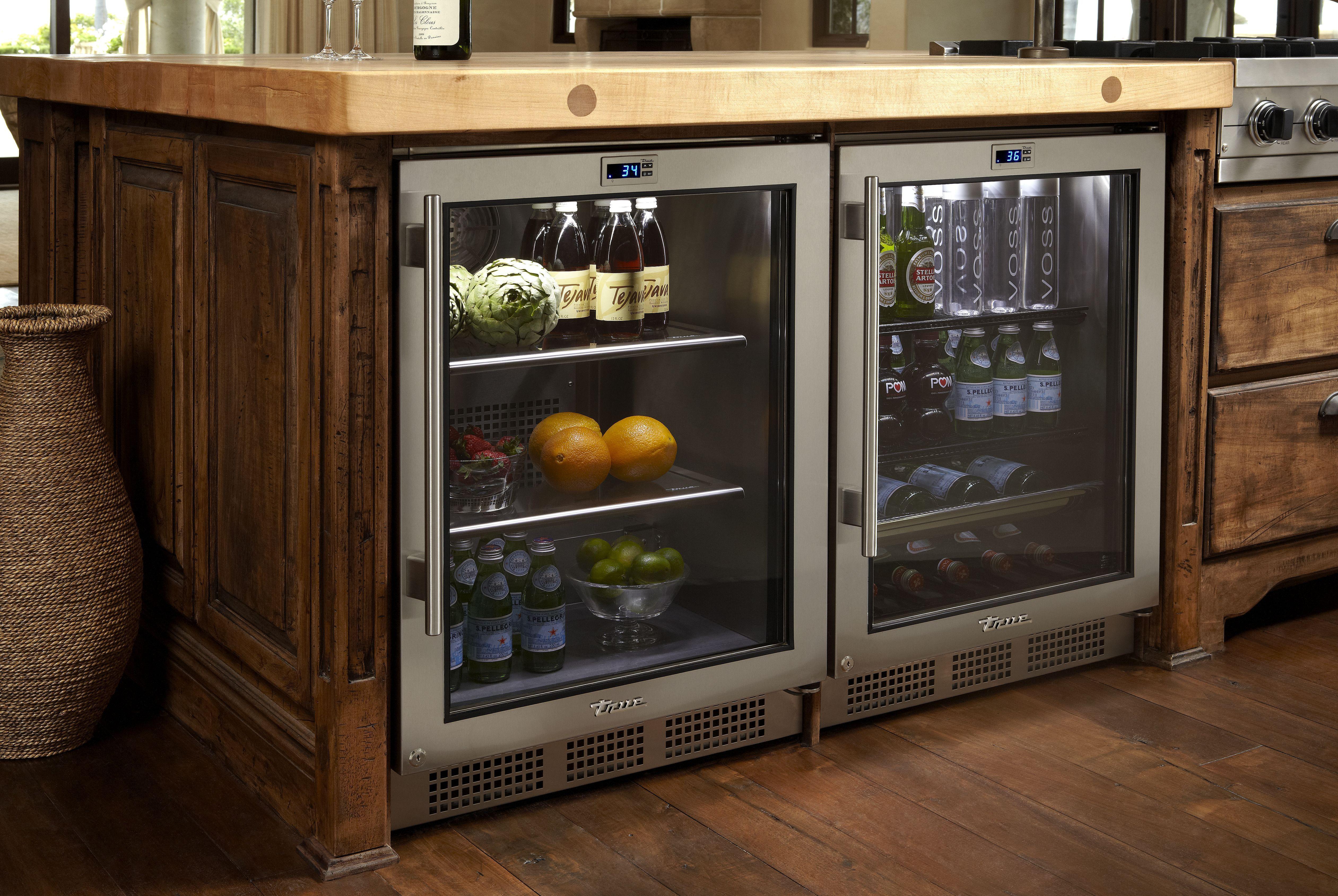 True Refrigerator Beverage Center Warners Stellian Appliance Kitchen Cabinet Remodel Kitchen Remodel Small Major Kitchen Appliances