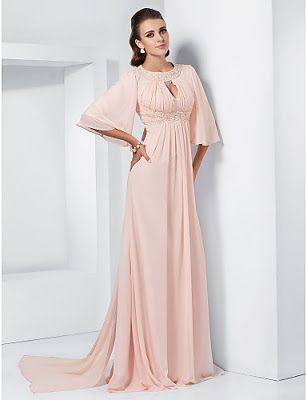 Vestidos Moda 2016 2017 Vestidos De Noche De Gasa Vestidos De Gala Largos Foto De Vestidos