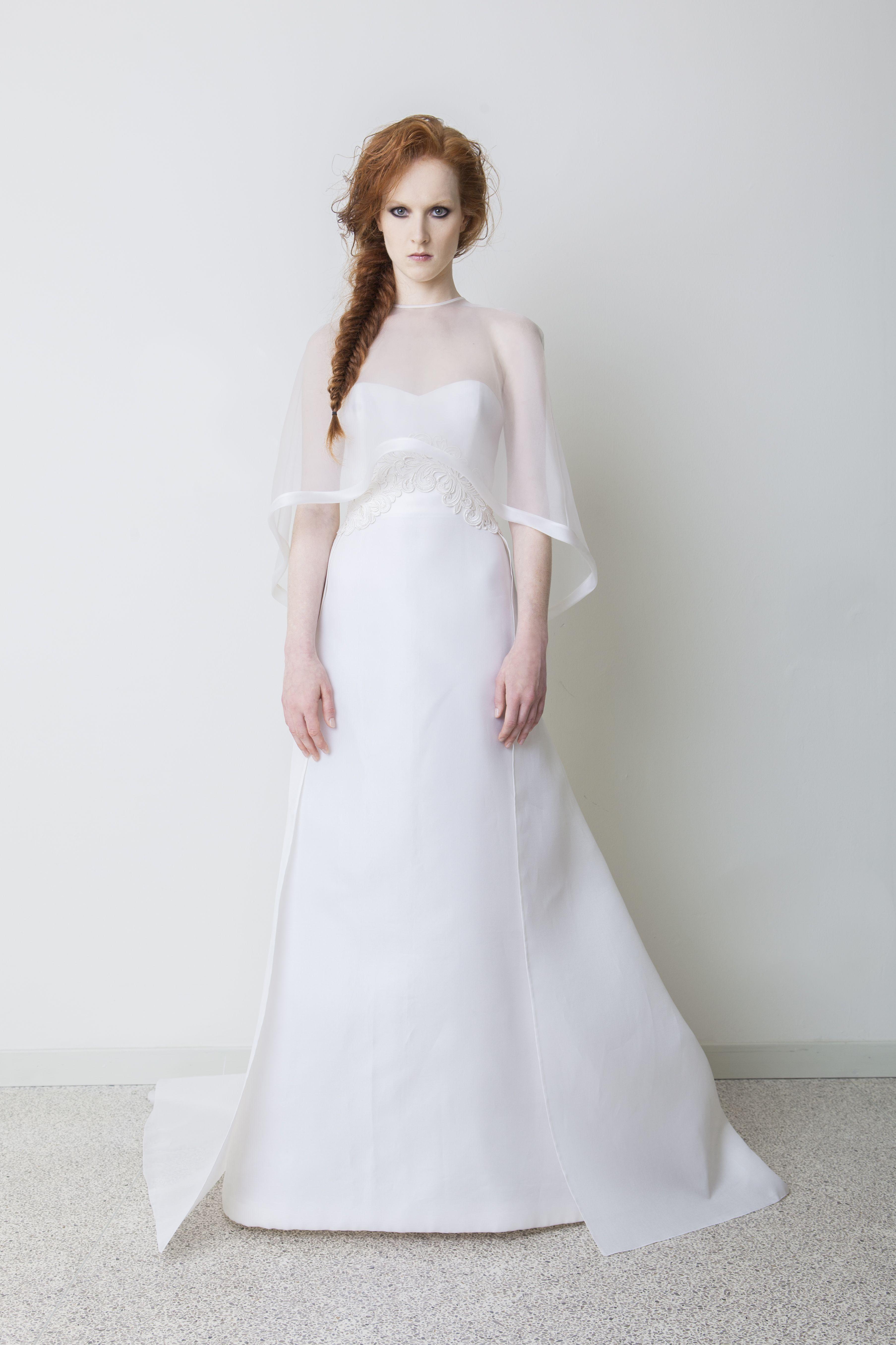 Beautiful Tailored Wedding Dress Atelier Sarli Couture Sarlicouture