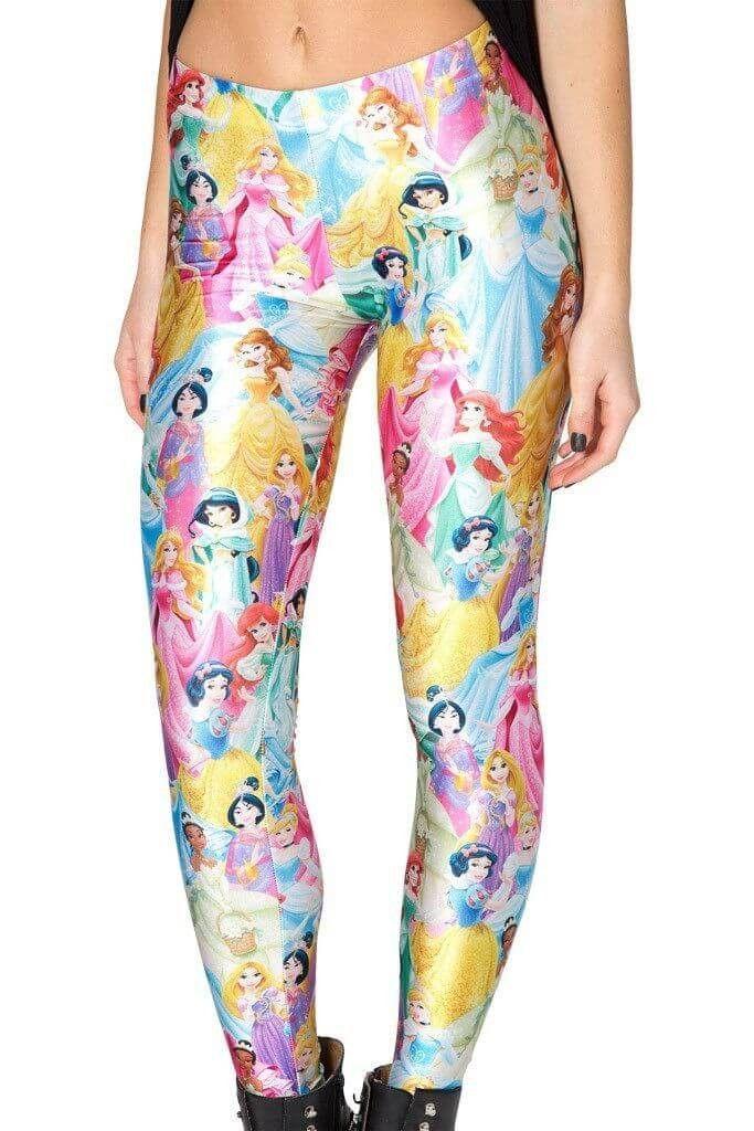 241be5202c Disney Princess Leggings for Women   Disney/Pixar/Cartoon   Disney ...