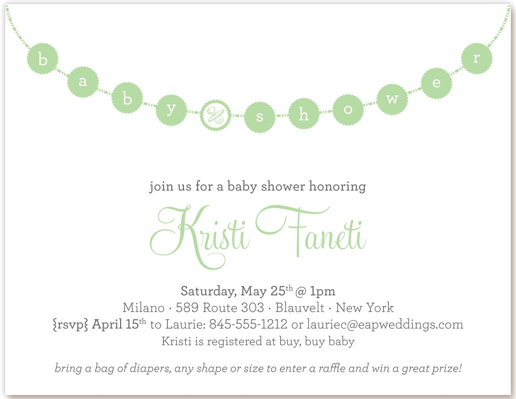 CoolNew The Cheap Baby Shower Invitations in Bulk Free Check more at ...