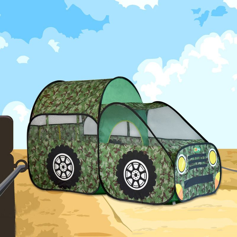 Army Green Car Toy Tent Big Size Kids Playing House 180x145x120cm Gift for Children #Affiliate & Army Green Car Toy Tent Big Size Kids Playing House 180x145x120cm ...