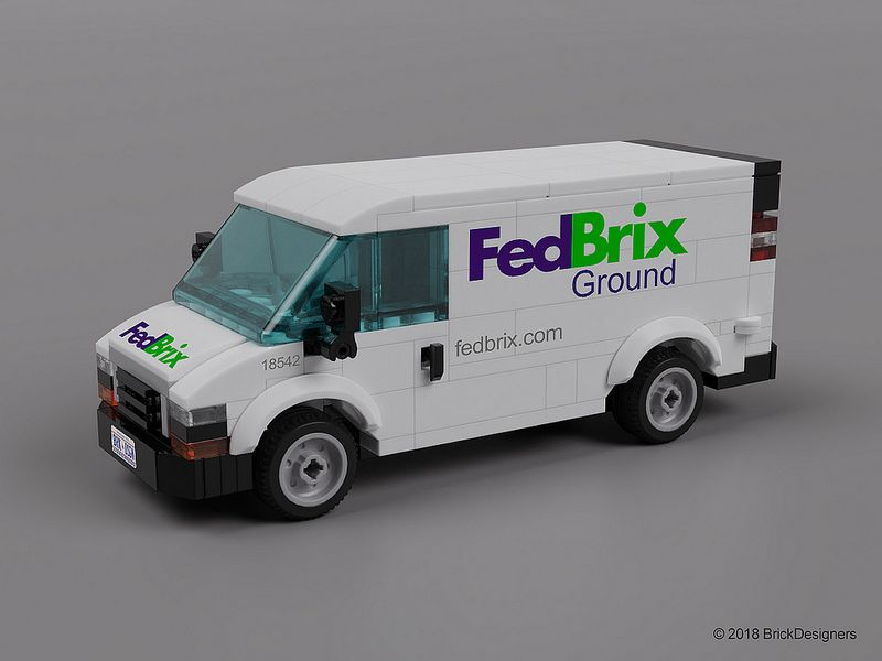 Express Delivery Van Chevy Express Vans Lego Cars