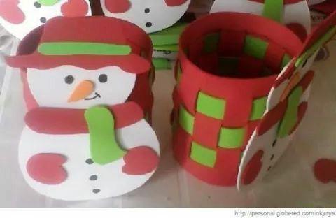 Portapenne natalizio