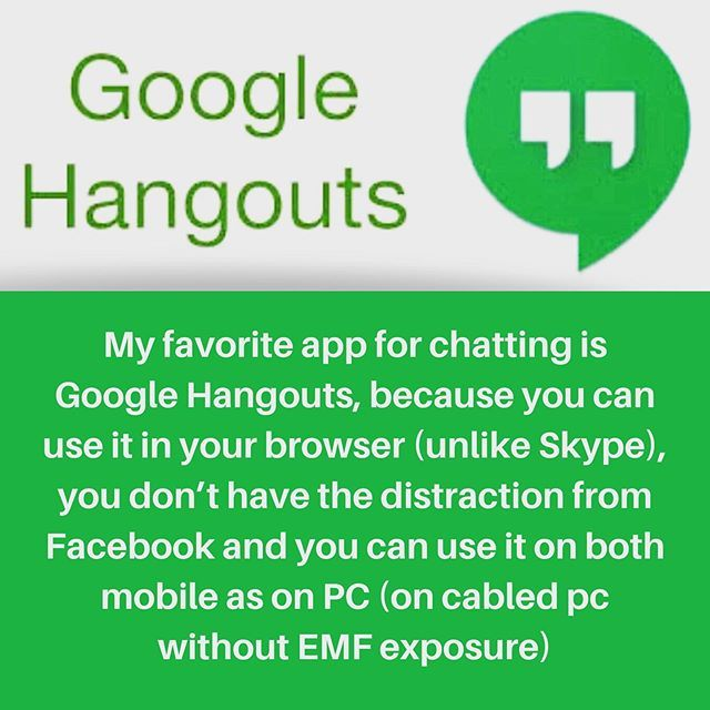 What is your #favorite #app for #chatting ? #chat #google