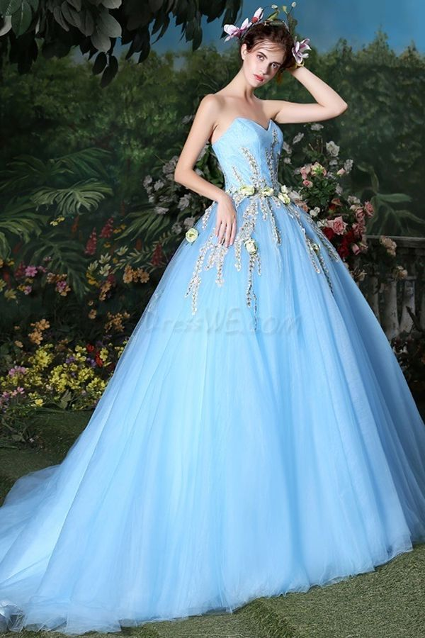5f8852d1ad7 Lovely Ball Gown Sweetheart Embroidery Floor-Length Quinceanera Dress