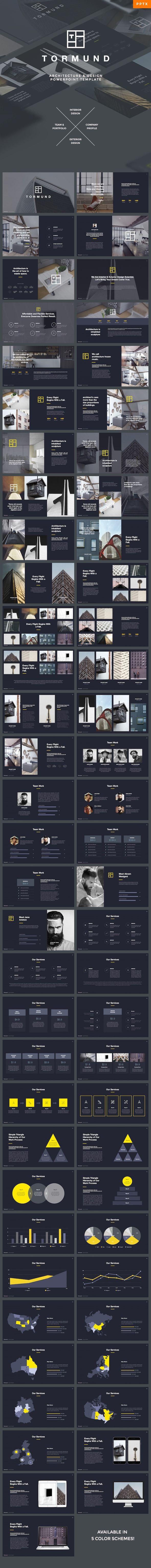 Thormund - Design & Portfolio Powerpoint Template | Design ...